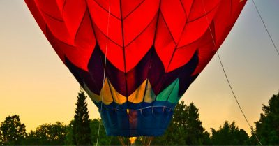 Hot Air Ballon Don't Compromise Kiran Trace