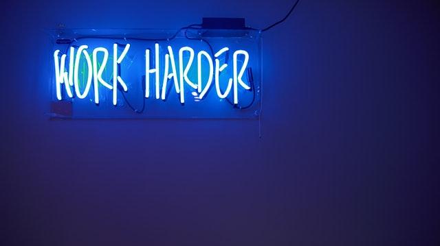 Working harder